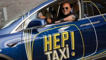 Pascal Obispo au volant du taxi