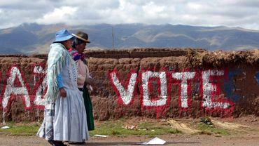 Elections en Bolivie – Les élections les plus disputées pour Morales, l'opposition appelle au vote sanction.