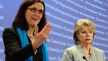 Espionnage américain: la Commission européenne classe le dossier Swift