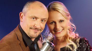 Jean-Louis Lahaye et Maureen Louys, le duo de commentateurs de cette prestigieuse soirée !