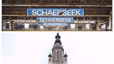 Nom et hôtel de ville de Schaerbeek