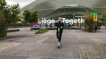 140 trottinettes sont déployées à Liège et le nombre pourrait augmenter en cas de succès