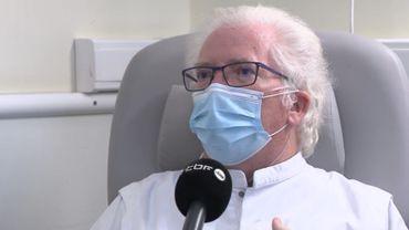 Victime du Covid, Lucien Bodson, chef des urgences au CHU de Liège, témoigne