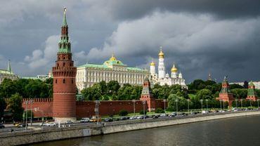 Le Kremlin à Moscou, où travaillait un espion russe, taupe des Etats-Unis, qui a été exfiltré par les services secrets américains en 2017 selon des médias américains