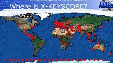 XKeyscore dispose de centaines de serveurs dans le monde entier