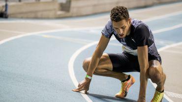 Dylan Borlée a terminé 6e du 400 mètres