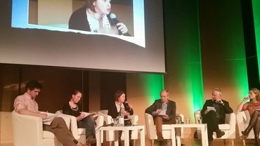 """Ecolo organisait ce dimanche un débat sur la redistribution du temps de travail à Namur, lors d'un """"Ecolab""""."""