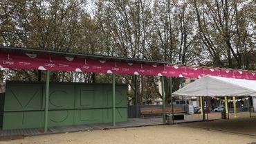 Une nouvelle place vient d'être inaugurée en Outremeuse, à Liège.