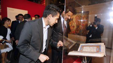 Réouverture de la bibliothèque de l'Institut du Monde Arabe à Paris