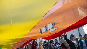 """La police d'extrême droite avait tenté de bloqué une """"Parade pour l'Égalité"""" le 13 octobre 2018"""