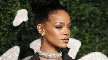 La chanteuse Rihanna n'a pas pu chanter aux Grammies