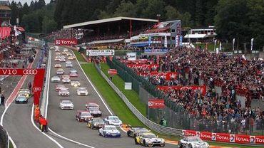 68ème édition Total 24 Heures de Spa.