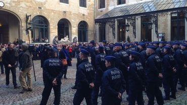 Action des policiers à Bruxelles à 14h: voici leur lettre à Yvan Mayeur