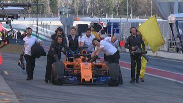 La McLaren de Stoffel Vandoorne