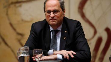 Espagne: Quim Torra, le président catalan indépendantiste, fait appel de sa destitution