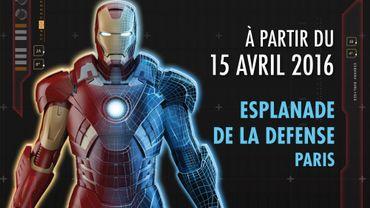 """""""Avengers S.T.A.T.I.O.N"""" s'installera du 15 avril au 25 septembre 2016 sur l'Esplanade de La Défense"""
