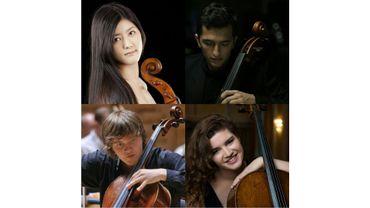 Ayano Kamimura, Aurélien Pascal, Ivan Karizna  et Julia Hagen
