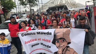 "Rassemblement ""Justice pour Mawda"" (Mons)"