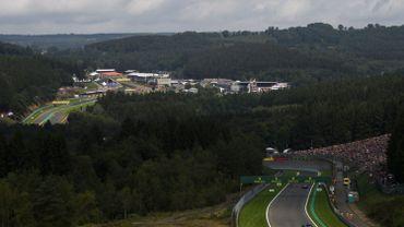 Course-poursuite entre la police et un supect au départ du circuit de Francorchamps