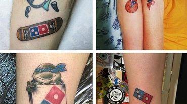 100 ans de pizzas en échange d'un tatouage: un défi qui coûte cher à Domino's Pizza