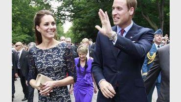 Le Prince William et sa femme Kate, le 30 juin 2011 à Ottawa