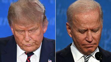 """Présidentielle américaine: Donald Trump traite Joe Biden de """"cinglé"""""""