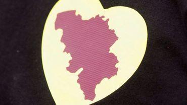 """Embleme d'une opération """"I love Belgium"""""""