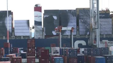 Le nouveau défi de JR: une photo géante sur un porte-conteneurs