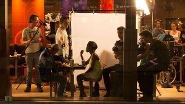 "Tournage du film ""Black"", de Adil El Arbi et Bilall Fallah"