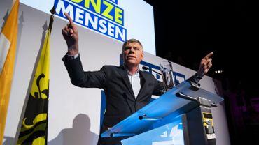 """""""Le peuple se sent abandonné"""", a expliqué l'homme fort du Vlaams Belang"""