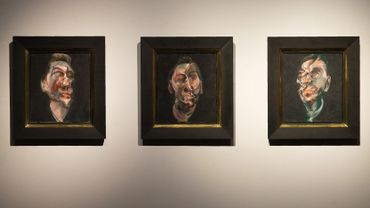 """Francis Bacon, """"Three Studies of George Dyer"""""""