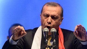 """M. Odabasi, 53 ans, emprisonné et torturé lors du coup d'Etat militaire de 1980 en Turquie, a affirmé que le peuple turc était """"amoureux de son bourreau"""" Erdogan."""