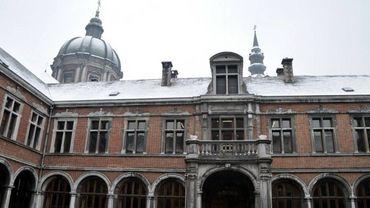 Le palais de justice de Namur.