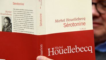 """Serotonine"" de Michel Houellebecq sort ce vendredi 4 janvier"