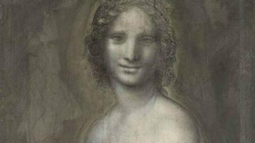 """""""La Joconde nue"""" conservée au château de Chantilly, au nord de Paris, a bien été réalisée dans l'atelier de Léonard de Vinci """"avec la très probable participation du maître"""" toscan."""