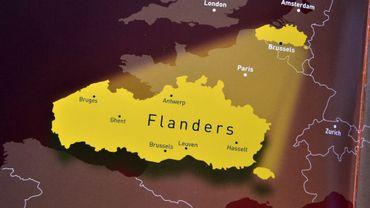 Au Japon, la Flandre liquide encore ses cartes intègrant Bruxelles