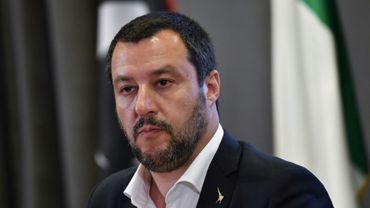 Le ministre italien de l'Intérieur Matteo Salvini à Rome, le 5 juillet 2018