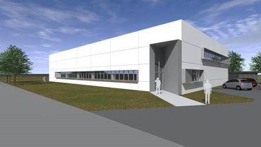 Ce bâtiment de 1 000 m² situé dans le parc scientifique accueillera dès février 2020 le centre de production des restaurants universitaires de l'UCLouvain