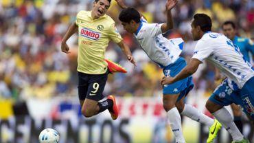 En jaune, Raul Jimenez