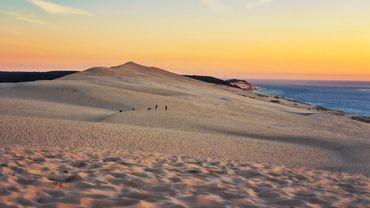 La Dune du Pilat a perdu près de quatre mètres de haut.