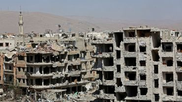 Le régime syrien, soutenu militairement depuis septembre 2015 par la Russie, a lancé le 18 février une offensive dévastatrice contre l'enclave rebelle de la Ghouta orientale, tuant plus de 1600 civils.