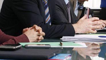Charles Picqué lors de la conférence de presse