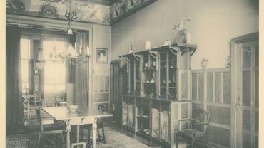L'intérieur de l'hôtel Ciamberlani (Hankar), rue Defacqz à Ixelles.
