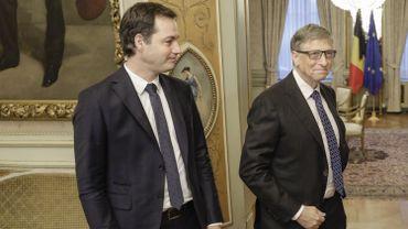 Alexander De Croo soutenu par Bill Gates pour éradiquer la maladie du sommeil