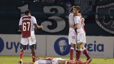 Le Standard affrontera le Zenit Saint-Petersbourg en barrages de la Ligue des Champions