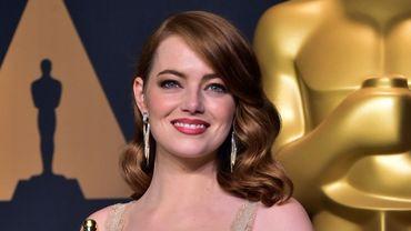 """Emma Stone a remporté l'Oscar de la meilleure actrice avec """"La La Land"""""""