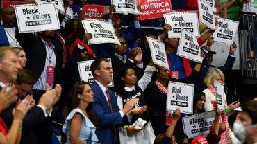 Kevin Stitt lors d'un meeting de Trump à Tulsa (Oklahoma), le 20 juin 2020