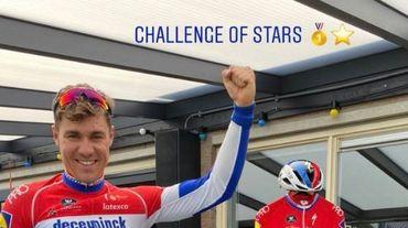 Fabio Jakobsen se révèle le sprinter le plus rapide du Challenge of Stars