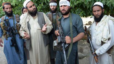 Talibans agfhans à Jalalabad.