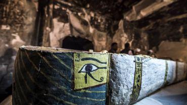 L'Egypte dévoile un tombeau et des sarcophages à Louxor (photos)